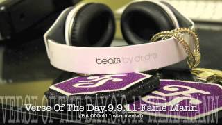 Verse Of The Day-9.9.11- Fame Mann (Pot Of Gold Instrumental)