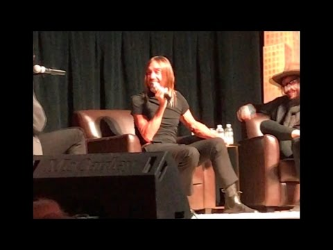 An Evening with Iggy Pop & Don Was in Detroit 10/23/2016