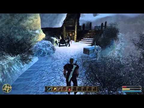 Gothic 3 доспех наемника в начале игры