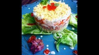 Как приготовить салат Мимоза.