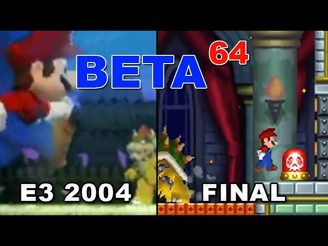 Beta64 - New Super Mario Bros.