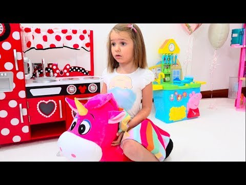 Katy and toys for girl