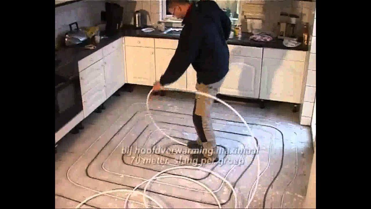 Vloerverwarming  Sanitiar & Tegelcentrum Weert  YouTube