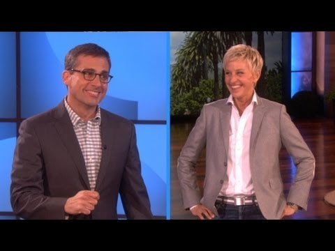 Steve Carell and Ellen Play Charades