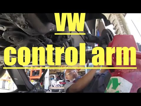 jetta Control Arm NOISE and axle replacement VOLKSWAGEN√ fix it angel