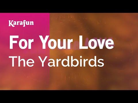 Karaoke For Your Love - The Yardbirds *