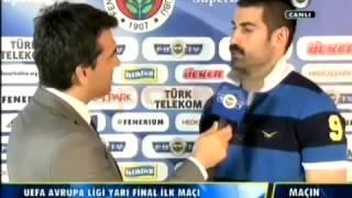 Fenerbahçe 1 0 Benfica   Volkan Demirer Açıklamaları   UEFA Avrupa Ligi Yarı Final