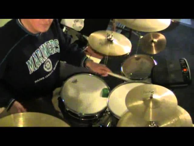 Space Truckin drum part- Doug Baker.flv