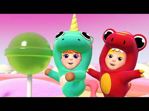 🎤 HELPING EACH OTHER in CANDY LAND  🎷One Zeez story for kids