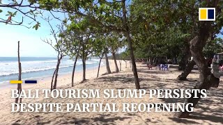 Bali tourism slump continues despite partial reopening amid Covid-19 pandemic