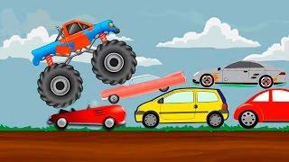 Мультики для дітей - Поліцейська машина Швидка допомога та інші машинки в мультфільмі про машинки.