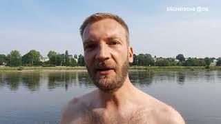 Starke Strömung treibt Elbeschwimmer ab