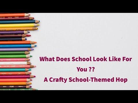 September School Theme You Tube Hop 2020