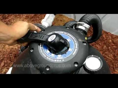 hayward pump and filter hook up