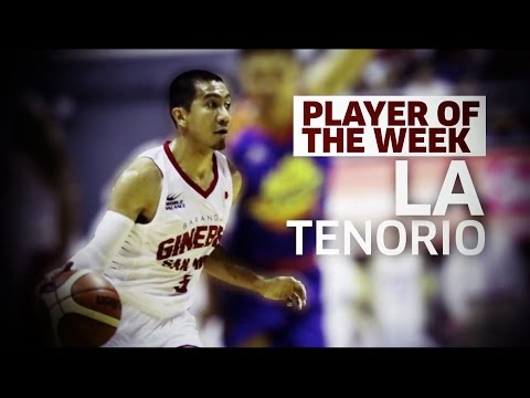 Player of the Week: LA Tenorio | PBA Commissioner's Cup 2017