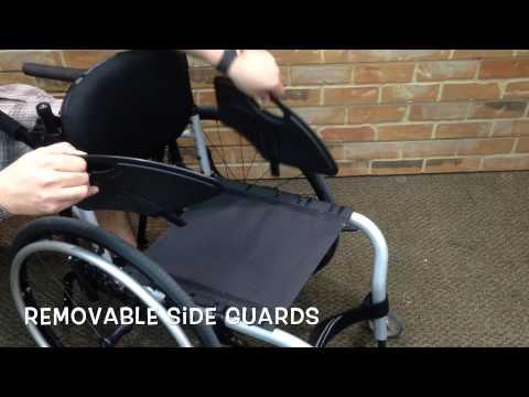 Quickie Q7 EIR4 Ultralight Adult Manual Rigid Manual Wheelchair