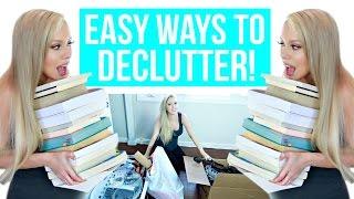 5 Easy Ways to Declutter!