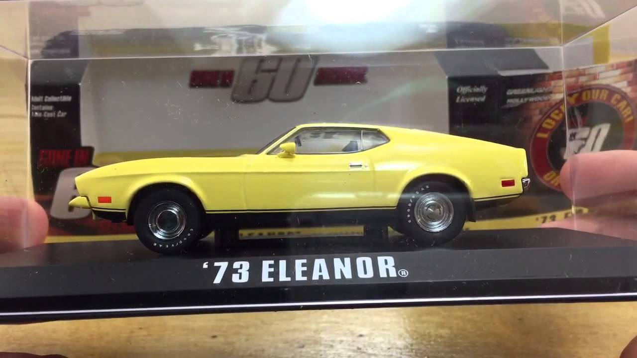 Greenlight Gone in 60 Seconds 1 43 Eleanor 73 Mustang Review ...