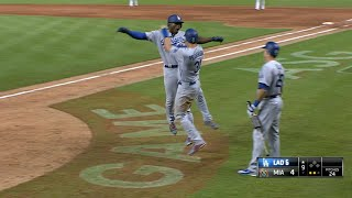 7/14/17: Puig's two-homers leads Dodgers to comeback