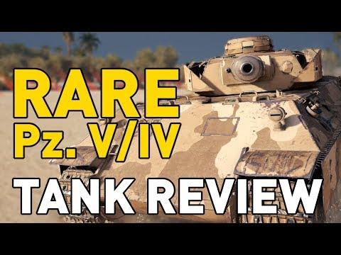 World Of Tanks || *RARE* Pz. V/IV - Tank Review