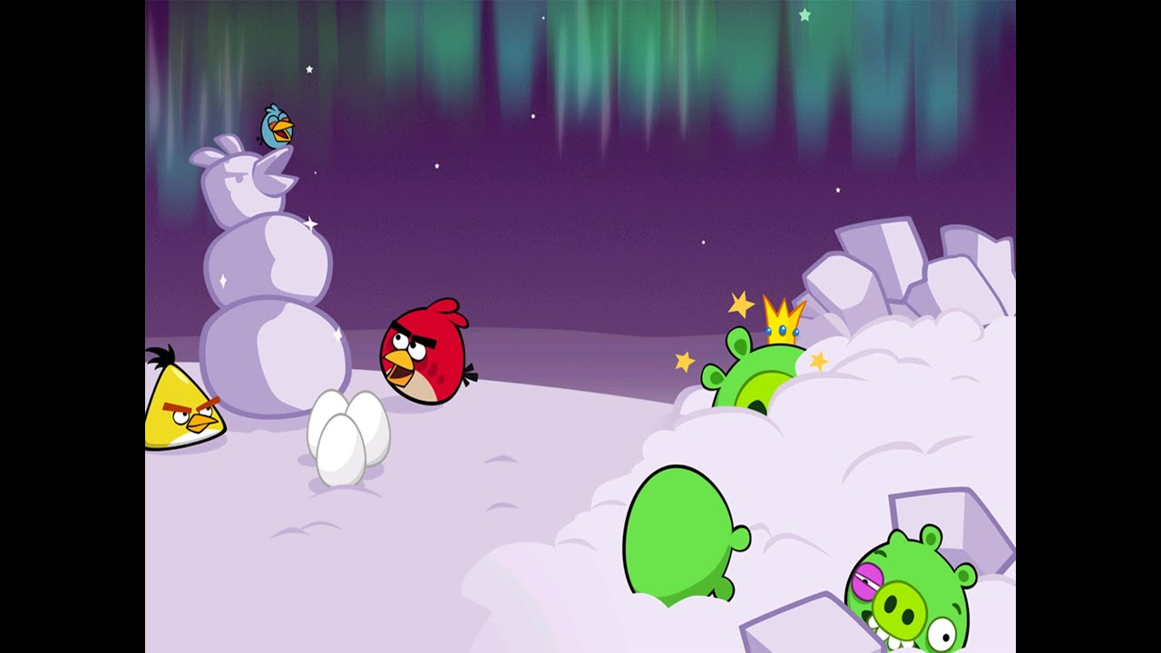 Angry Birds Christmas Special Best Moments of 2012 - YouTube