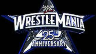 Wrestlemania 25 theme song - shoot to Thrill AC/DC