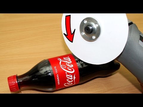 EXPERIMENT Can you cut COCA COLA with PAPER?!