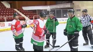 Предизвикателство - Иван и Андрей играят хокей (ЦЯЛОТО ВИДЕО)
