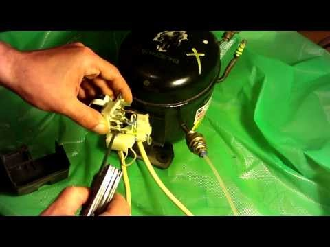 How to wire a fridge compressor - YouTubeYouTube