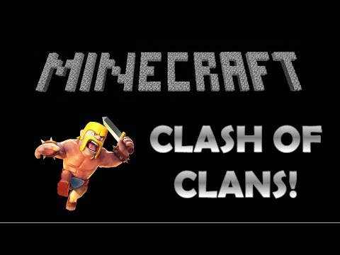Minecraft Xbox CLASH OF CLANS Adventure Map!