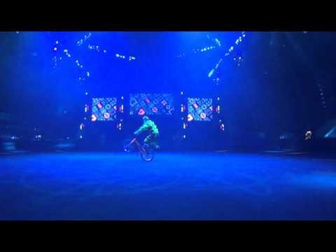 BMX freestyle circus group act   HD