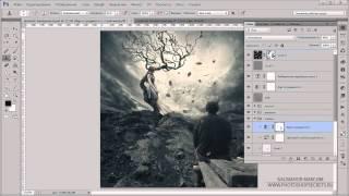 Видеоурок Photoshop Осенний вечер