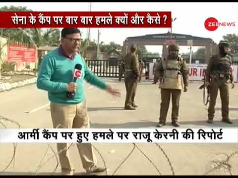 Sunjwan Army camp attack; Watch ground report from Jammu