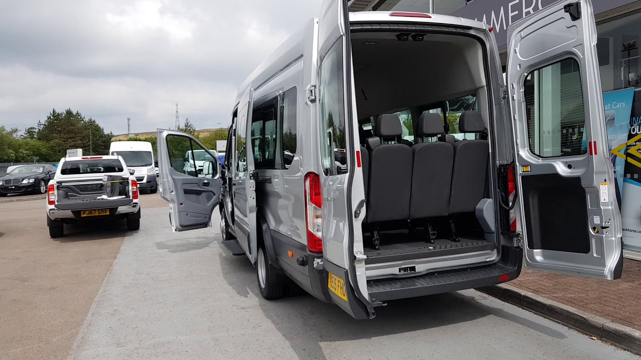 Download Ford Transit Tdci 125ps 460 17 Seater Minibus With only 16K 2.2 5dr Minibus Manual Diesel