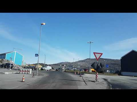 Driving in Nuuk, Greenland