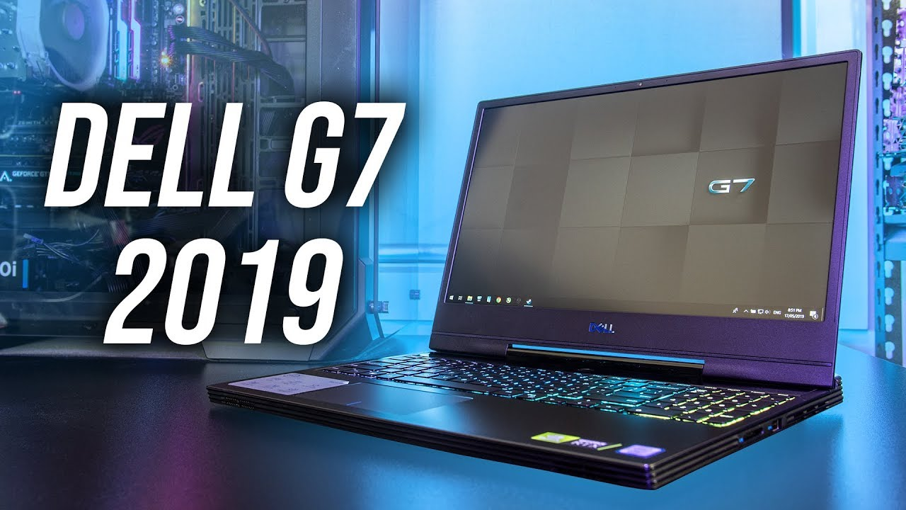 Dell G7 7590 (RTX 2060) Gaming Laptop Review