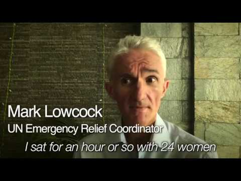 UN ERC Mark Lowcock - Supporting Rohingya Women and Girls
