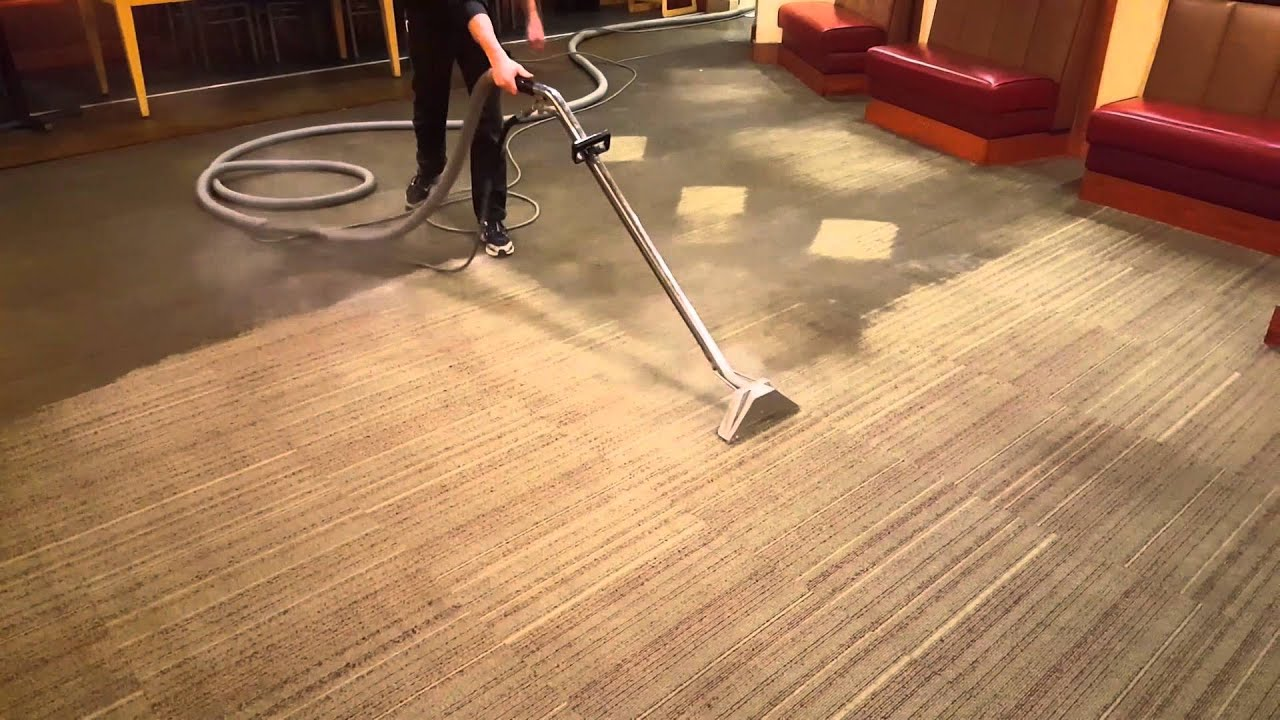 Bailtek Commercial Carpet Cleaning - YouTube
