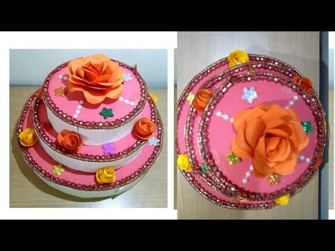 School project.How to make a paper cake. Diy ,decorations idea.