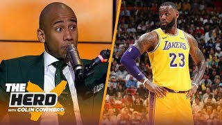 Dahntay Jones on LeBron's return to Cleveland, Bradley Beal on the Lakers | NBA | THE HERD