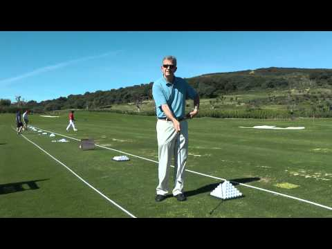 Golf wrist exercise from Peter Millhouse