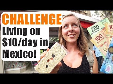 CHALLENGE! How Much Does $10 Buy in Mexico? (Guadalajara)