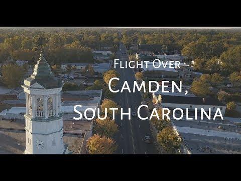 camden,-south-carolina---scenic-autumn-drone-flight