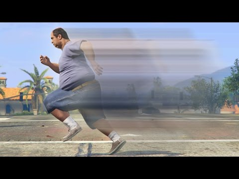 THE FASTEST FAT MAN ALIVE! *HILARIOUS!* | GTA 5 Role Play Life