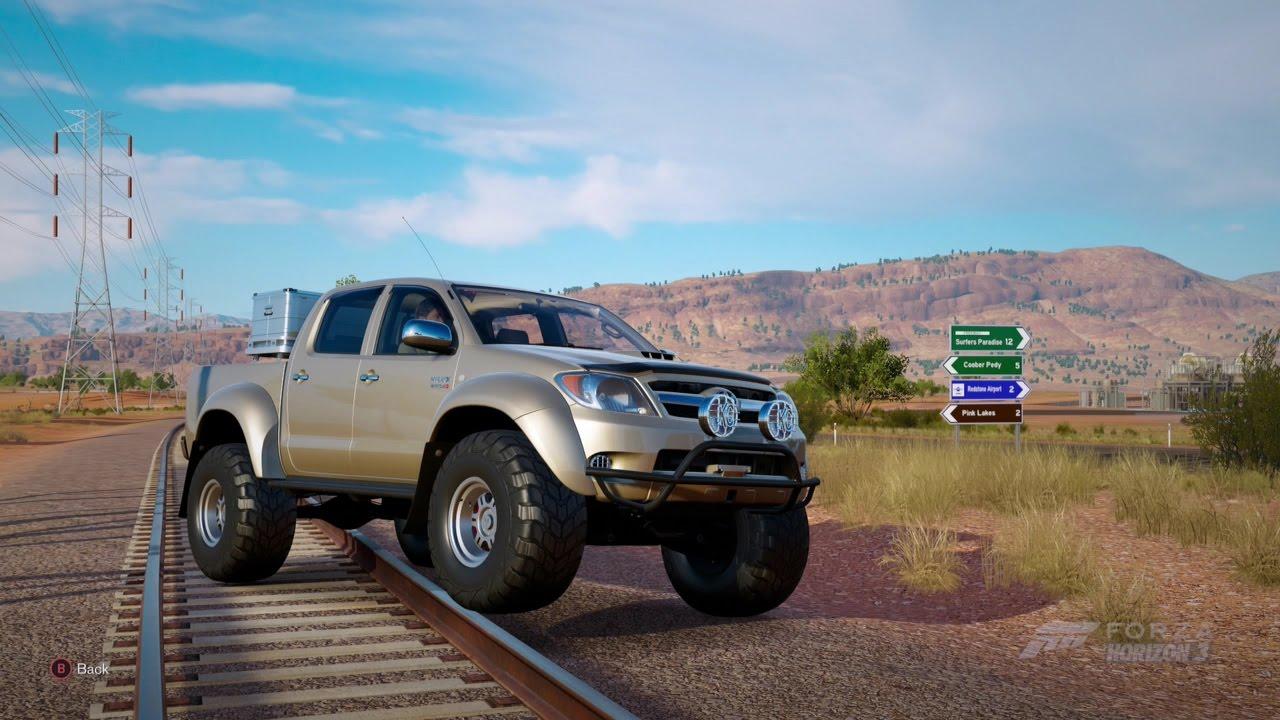 Toyota Tacoma Diesel >> Forza Horizon 3| 2007 TOYOTA HILUX ARCTIC TRUCKS AT38 - YouTube