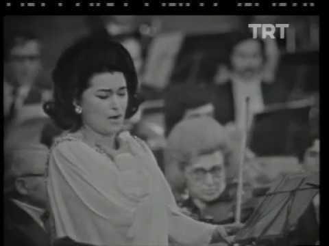 Leyla Gencer - Com'è Bello (Lucrezia Borgia) 1974 - Donizetti