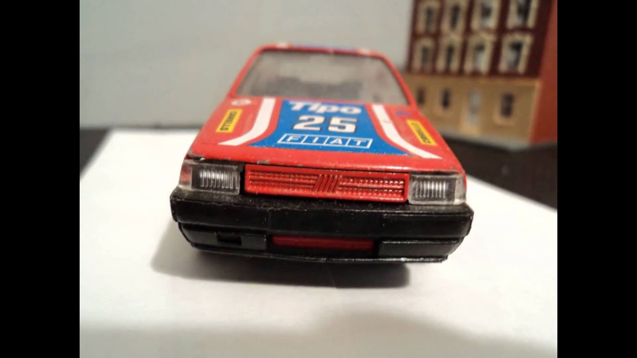 Bburago Fiat Tipo Rally Car Rare 1 43 Made In Italy Youtube