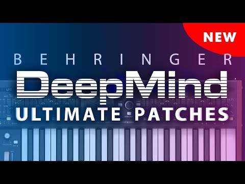 BEHRINGER DEEPMIND ULTIMATE PATCHES VOL. 1-3 (2019)