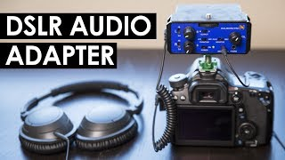 DSLR Audio Monitoring Setup — Beachtek DXA-Micro-Pro Review