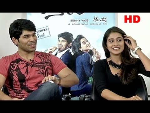 ‪Kotha Janta Team Interview || Allu Sirish || Regina‬